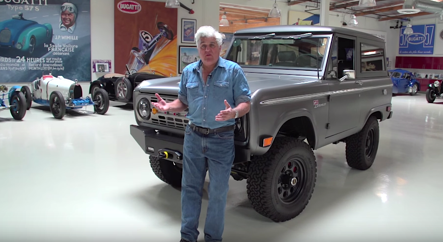 ICON's beautiful Bronco shows off for Jay Leno