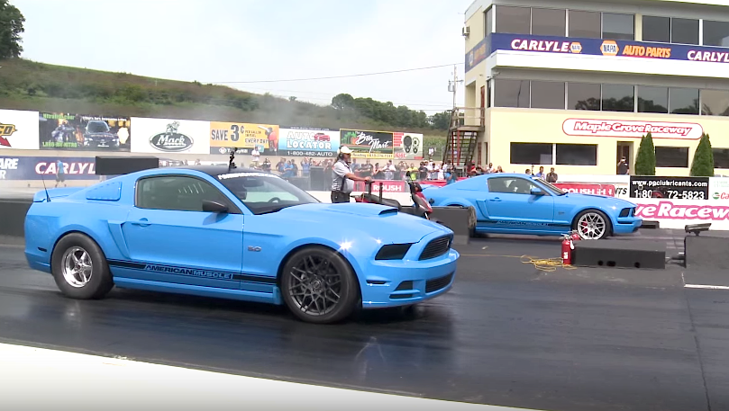 Big Mustang meet sees over 2,500 Mustangs, including a 1,000-horsepower Shelby