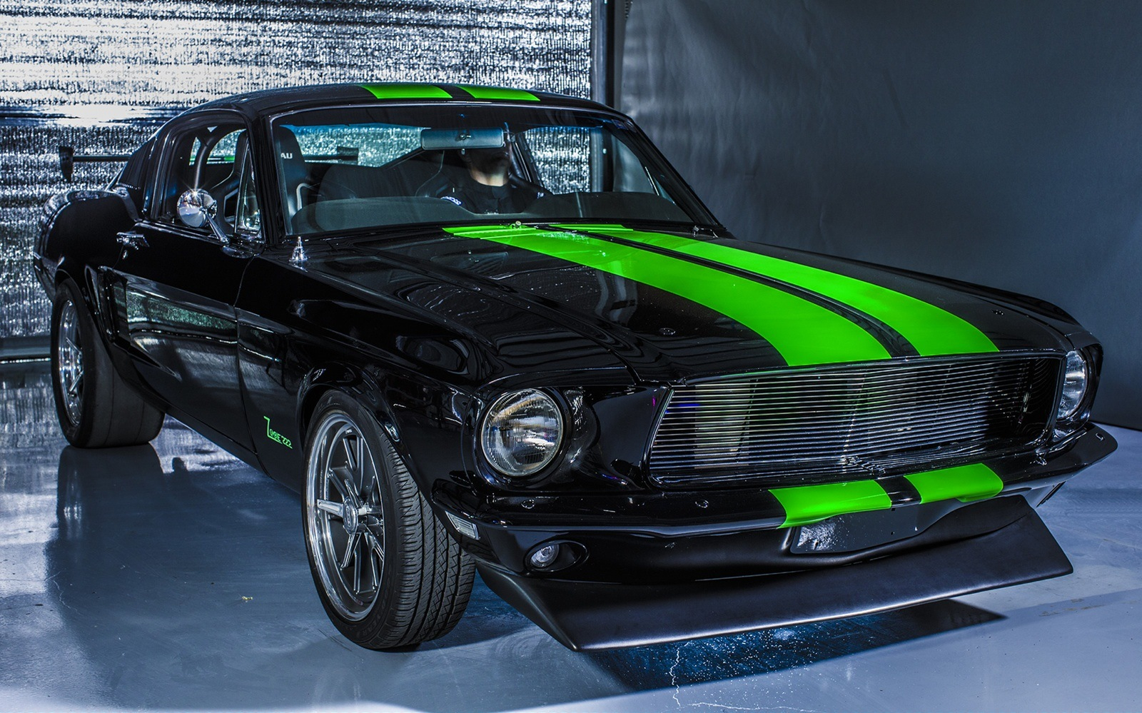 vintage electric mustang bleeds torque  hits  mph coolfords