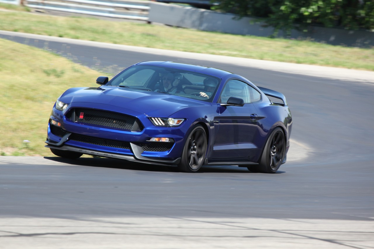 Shelby Mustang GT350R unwinds at Grattan Raceway