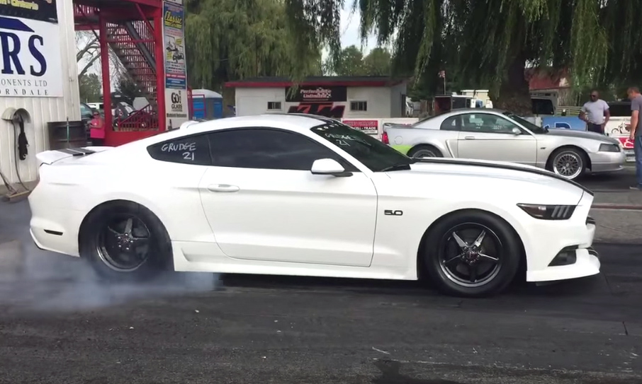 """Beefcake"" Mustang rips the strip in nine seconds"