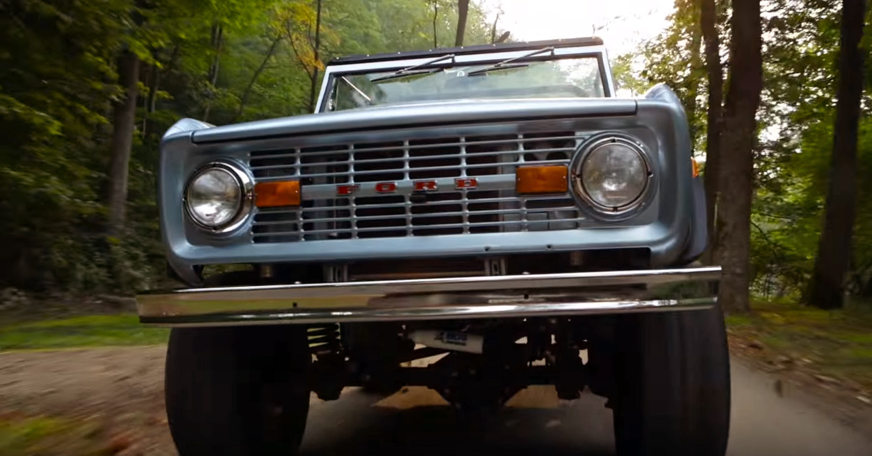 Classic Ford Bronco packs a Coyote's heart