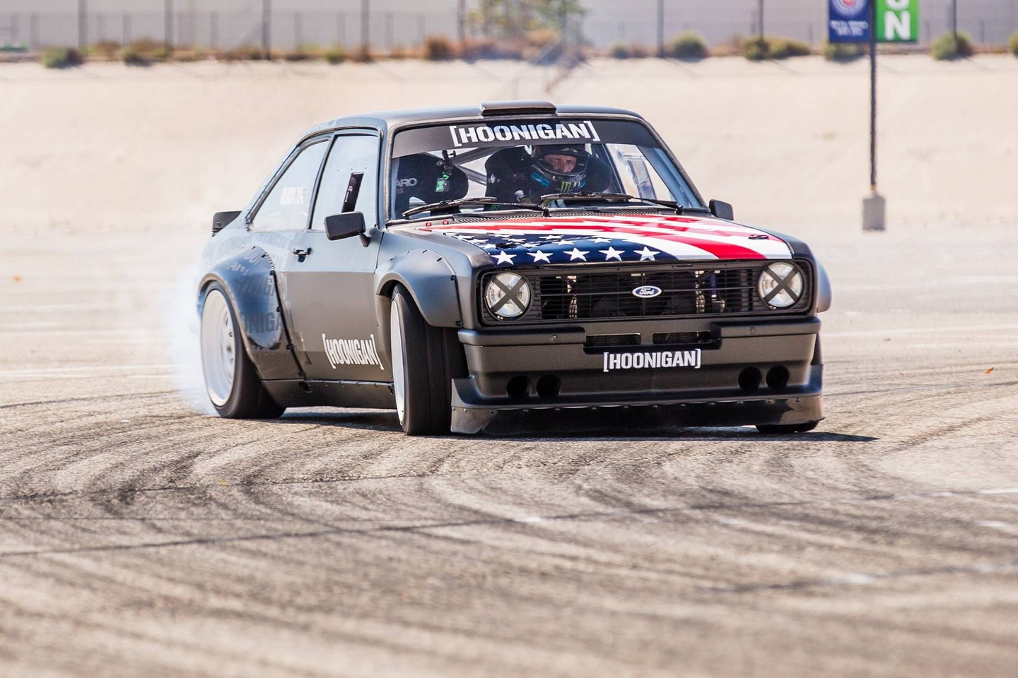 Ken Block reveals Hoon-tastic 1978 Ford Escort Mk2 RS for Gymkhana
