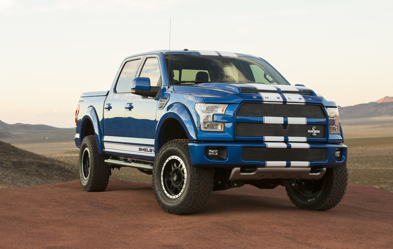 Shelby American reveals 700 HP supercharged Ford F-150