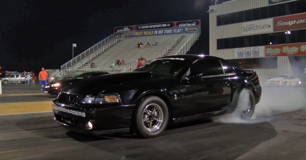 Supercharged Cobra smashes its rivals