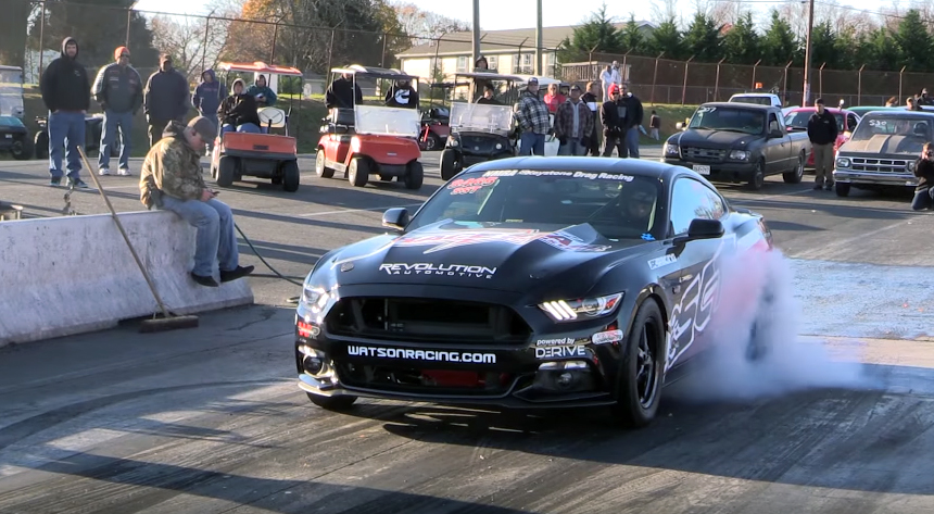 Ten-second EcoBoost is the world's fastest four-banger Ford Mustang