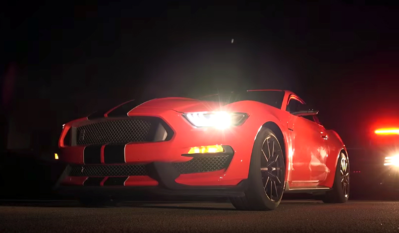 Motor Trend falls for the Shelby GT350