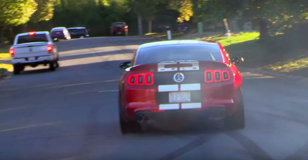 Big power, big problems: Shelby GT500 gets wrecked
