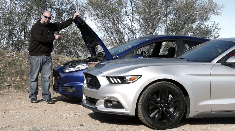 Mustang Ecoboost vs Fiesta ST