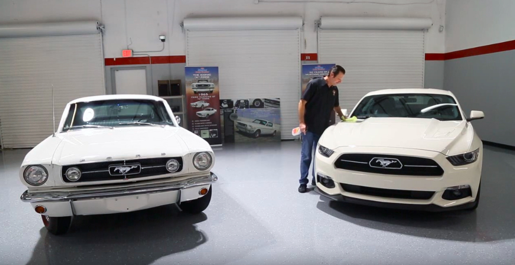 Win a pair of Mustangs in this Dream Giveaway