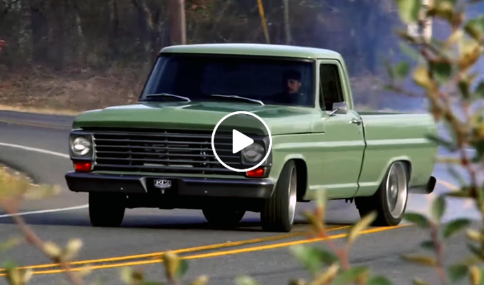 Wake up with KC Mathieu and his Frankenstein Ford - Coolfords