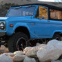 Icon's latest Bronco hits the road in a Smurftastic shade of blue