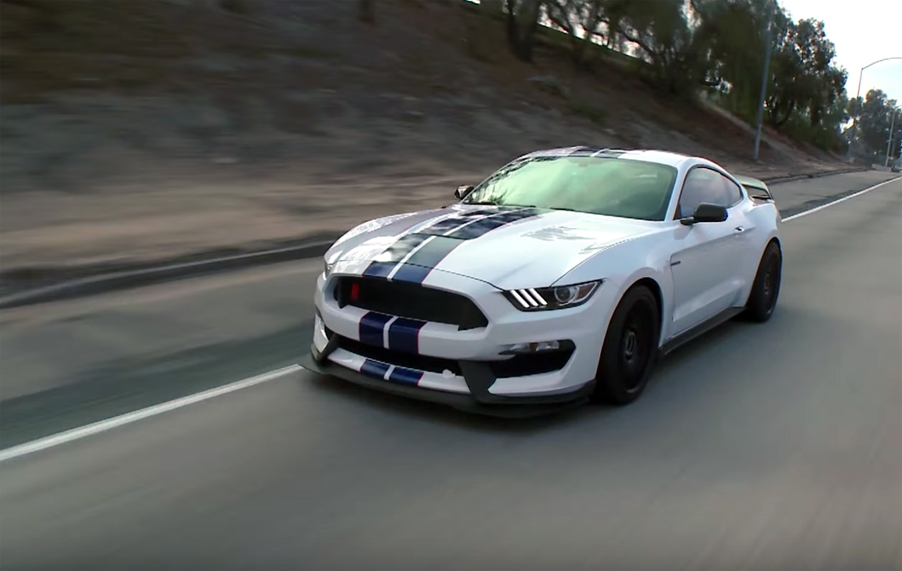 Jay Leno heaps praise upon the Shelby GT350R