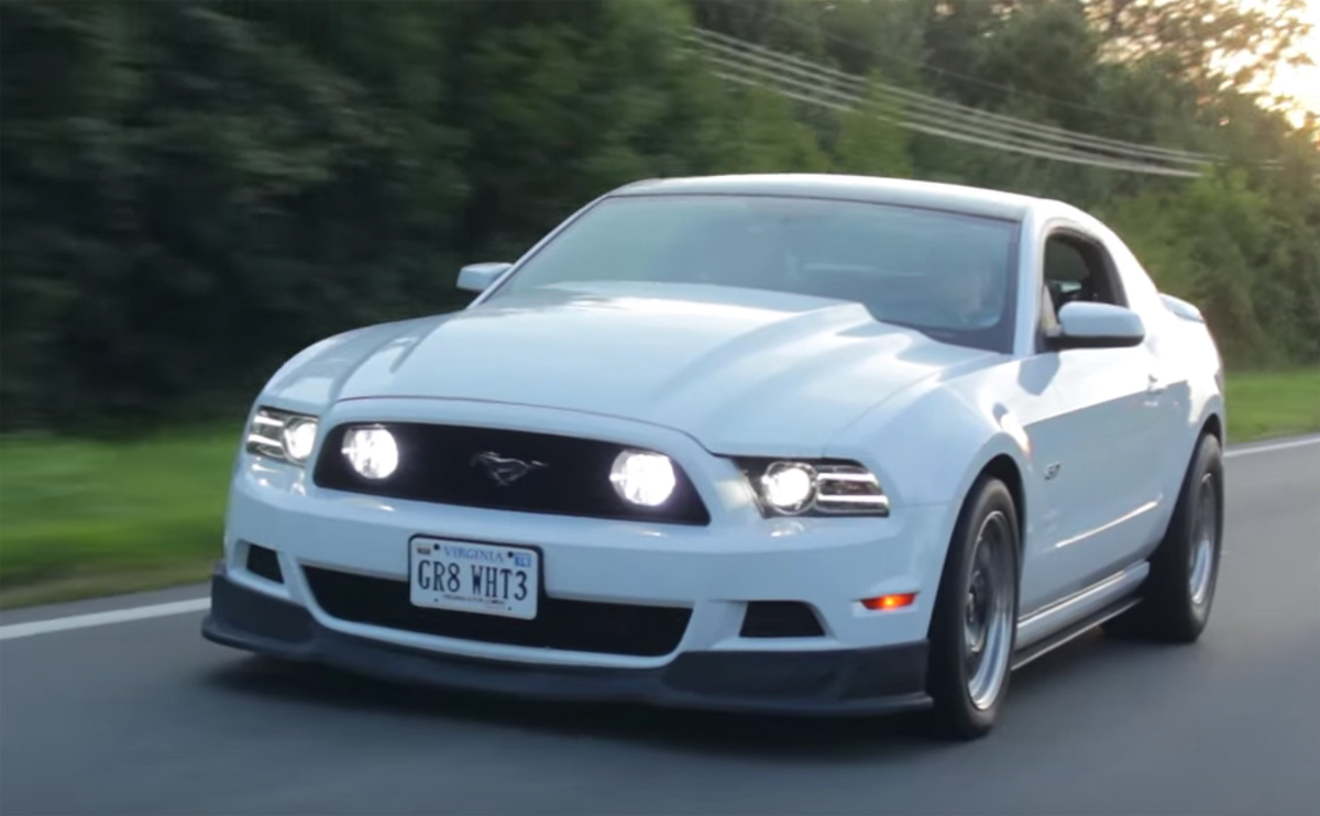 Corn-fed supercharged Mustang churns up 700 horsepower