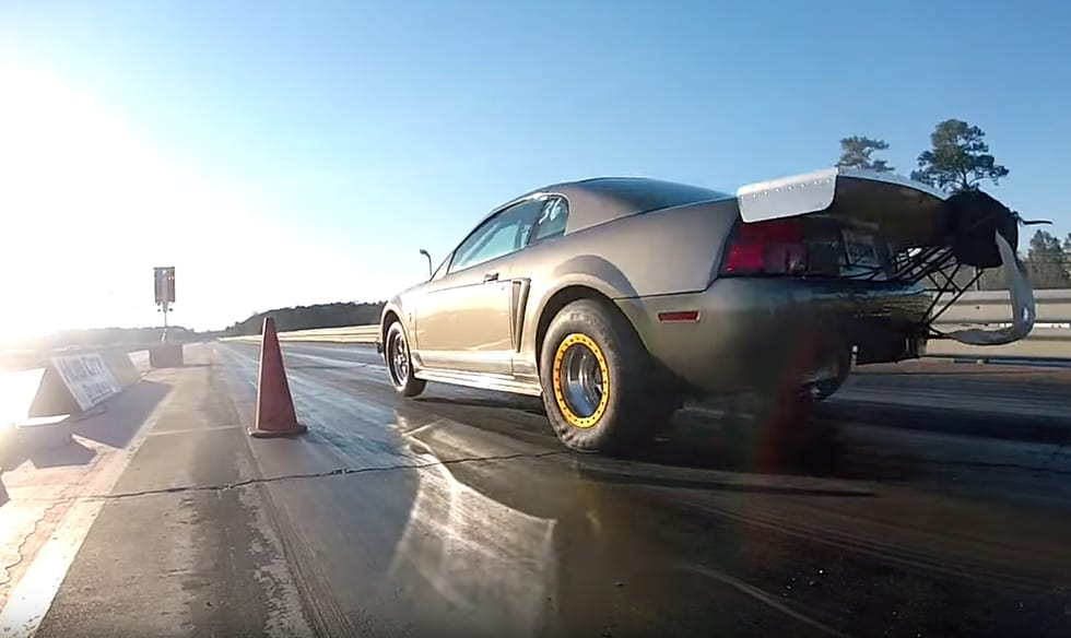 Blow your mind at these insanely fast drag Mustangs