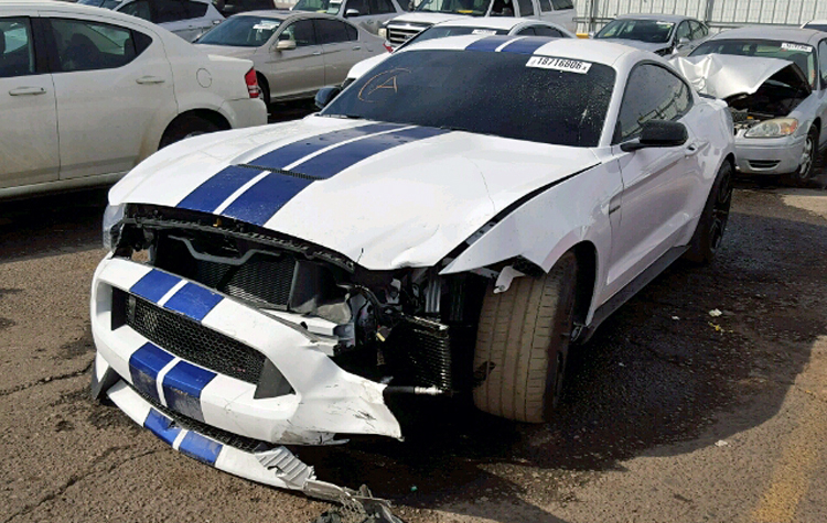 its been three months into the new year seven months since production began and someones already ruined their brand new 2016 ford mustang shelby gt350