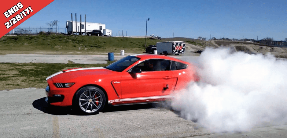 Shelby Mustang Burnout