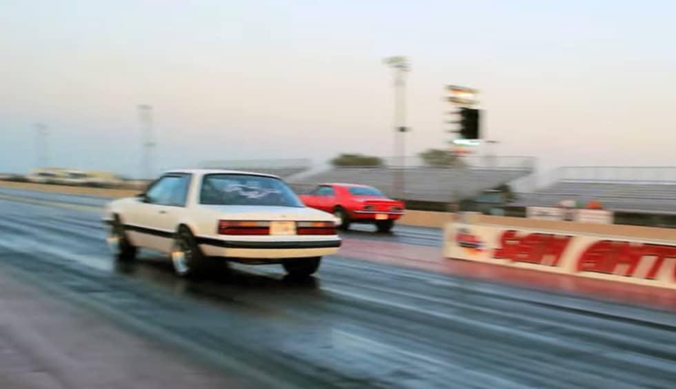 Big-block Fox Mustang Rocks The Strip On Street Tires