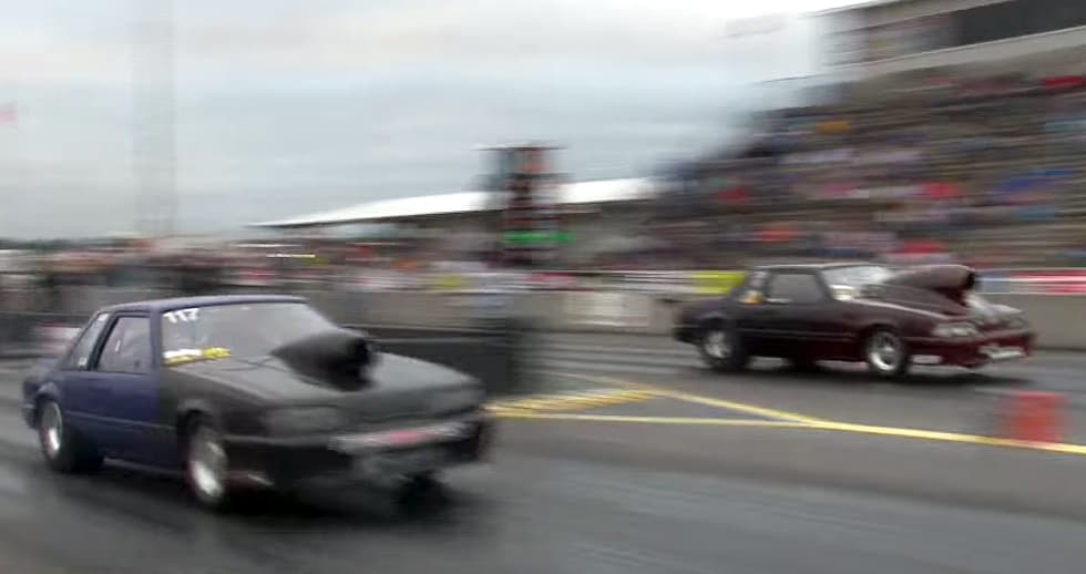2,000-Horsepower Nitrous Mustang Gets Mad Air
