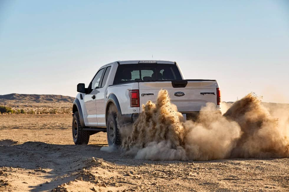 Ford Shows Off New Raptor's Unique BFGoodrich Tires
