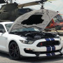 Watch a New Shelby GT350R Hit 140mph on an Empty Airstrip