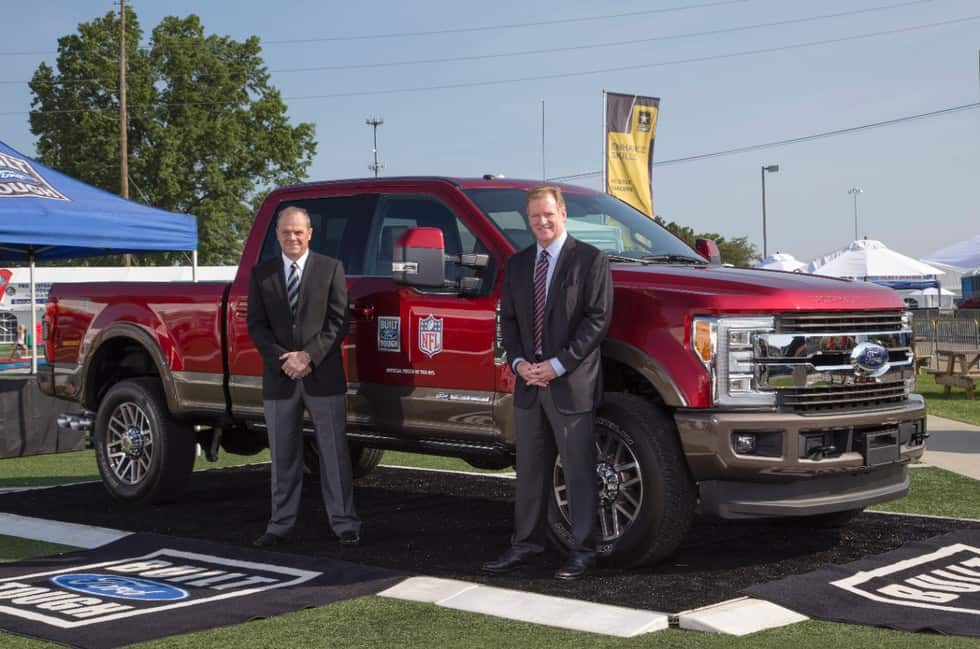 Ford F-Series Names Official Truck of the NFL