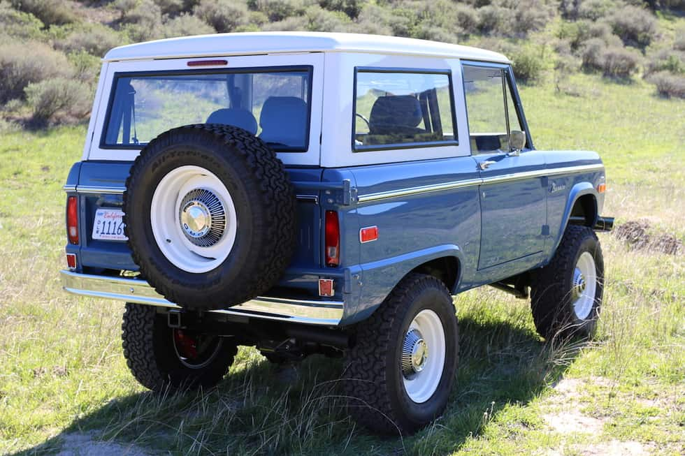 "ICON 4X4 shows ""Old School Edition"" Bronco, We Can't Stop Staring"