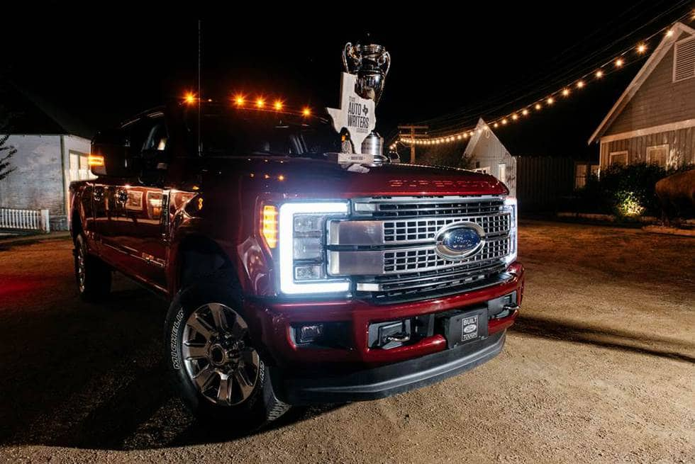 "2017 Ford F-Series Super Duty named ""Truck of Texas"""