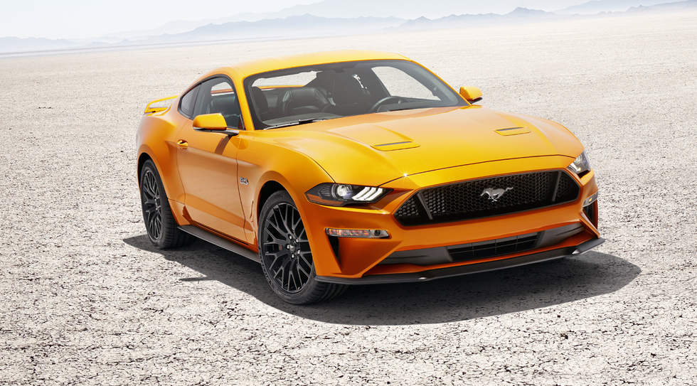 2018 Ford Mustang gets new styling, more power and tech, ditches V6