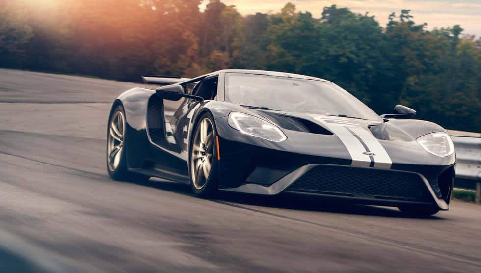 2017 Ford GT Running Shot