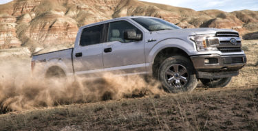 Ford F-150 Most Popular Vehicle Among America's Military