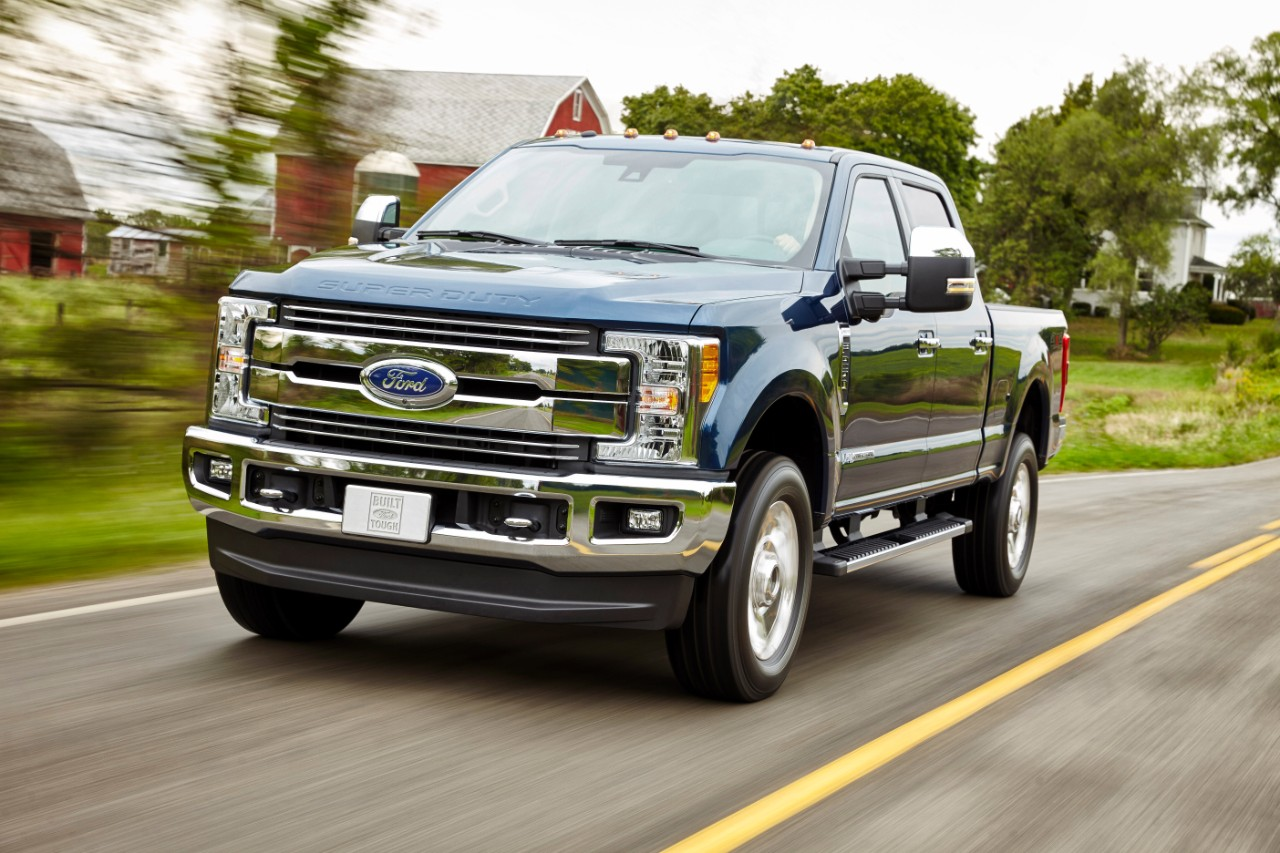 Ford drops all the details on new 2017 F-Series Super Duty trucks