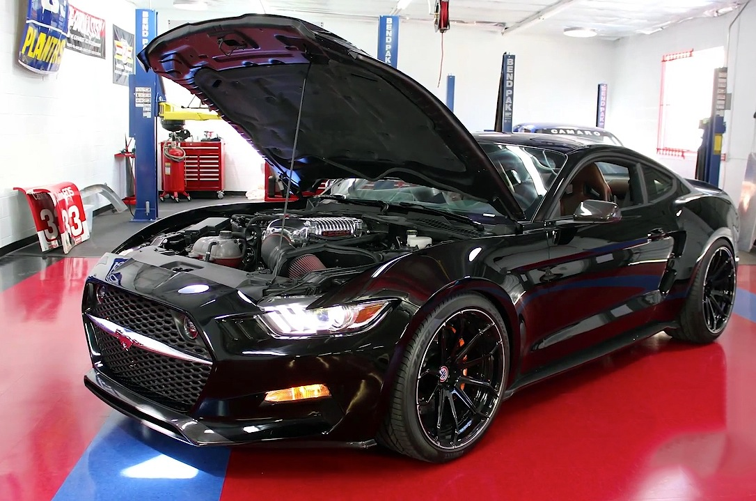 Galpin Rocket Mustang lands on Adam Carolla's Carcast