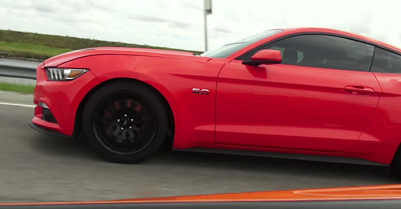 Supercharged Mustang takes on Viper TA