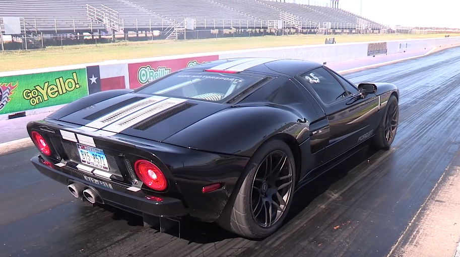 Twincharged Ford GT packs twin turbos and nitrous