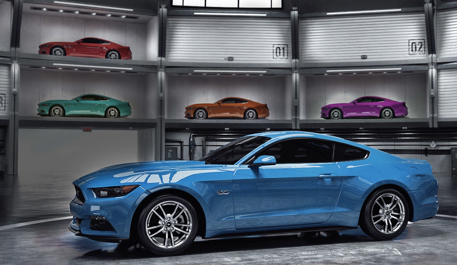 Customize the Mustang of your dreams with Ford's new app