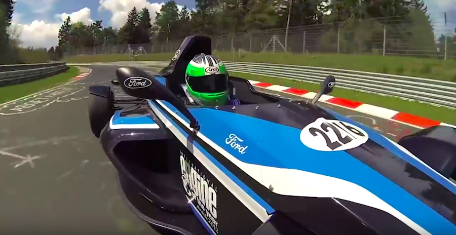 Ecoboost-powered Formula Ford is a street-legal race car