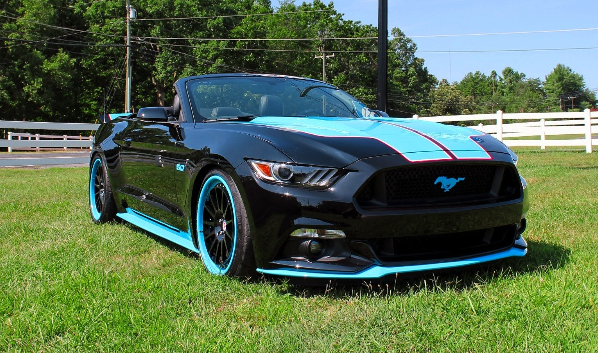 Petty's Garage reveals 727 HP Mustang GT King Edition