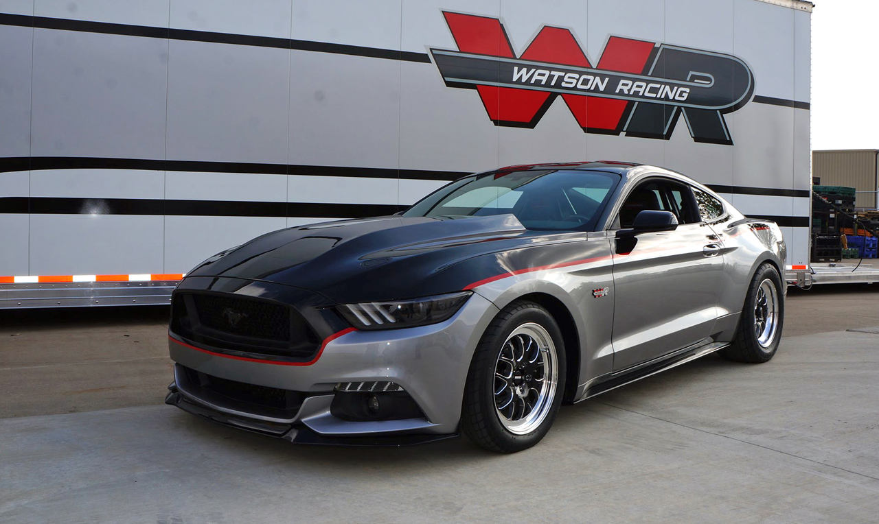 This is the first new Mustang to break into the 8s
