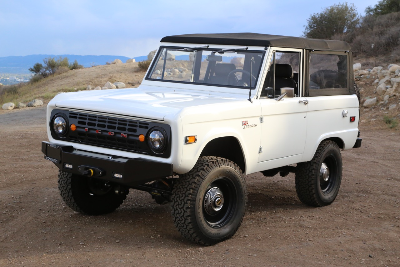 Ford truck deals icons latest bronco is restomod perfection coolfords