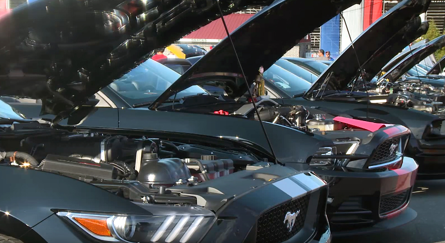Monster Mustangs wage war on the dyno