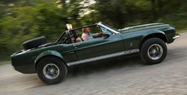 The Thomas Crown Affair Mustang goes off-roading