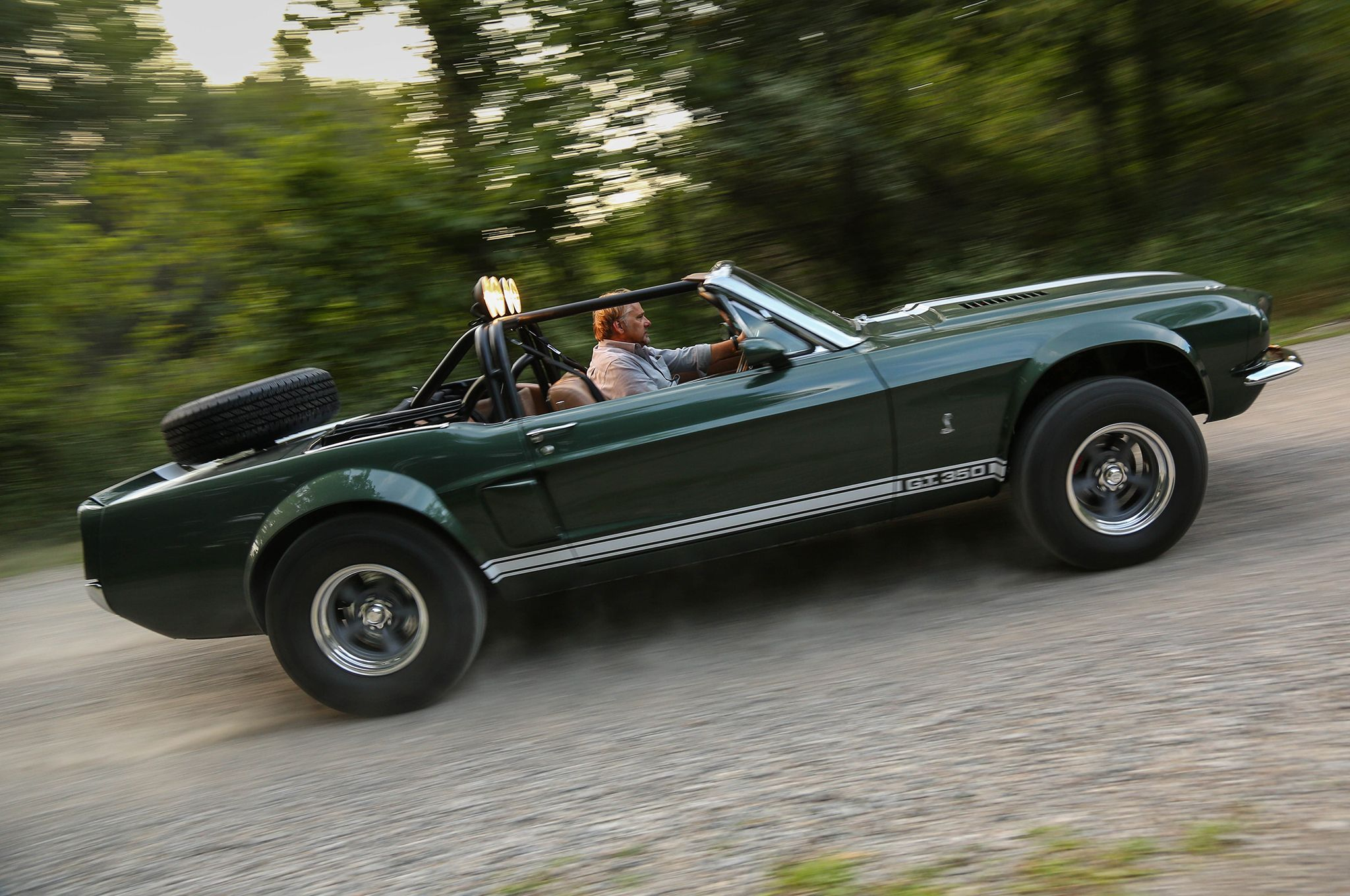 The Thomas Crown Affair Mustang Goes Off Roading Coolfords