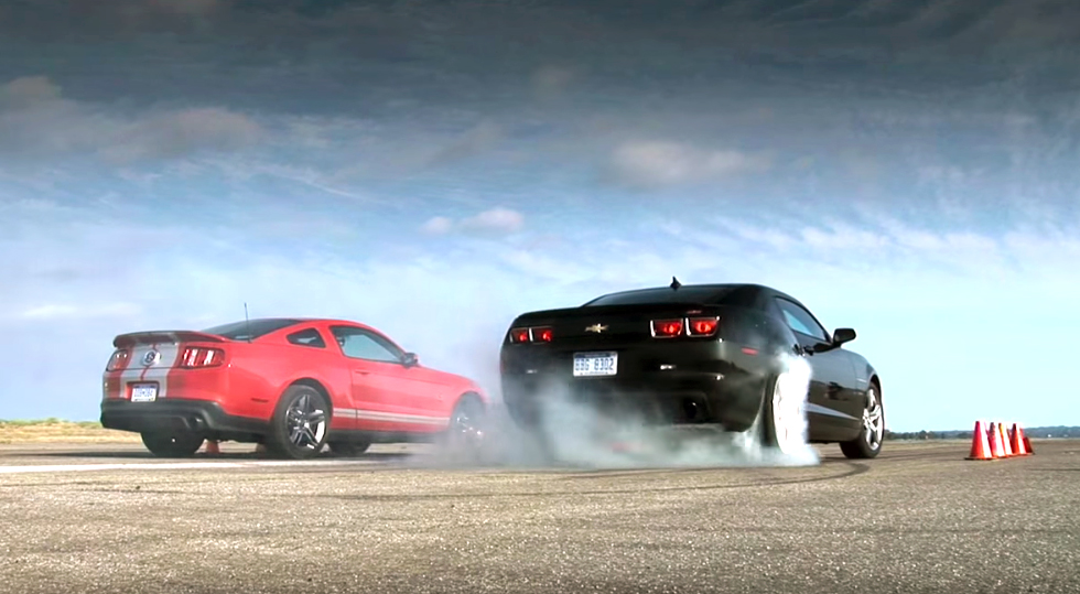 Flashback: Shelby GT500 picks on Camaro SS