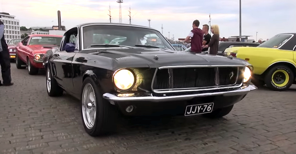 Finnish Bullitt Mustang replica sounds incredible