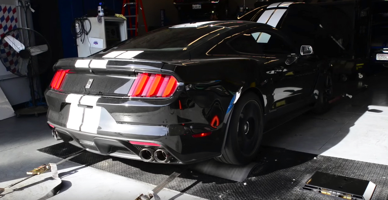 Shelby GT350 dyno run sounds epic