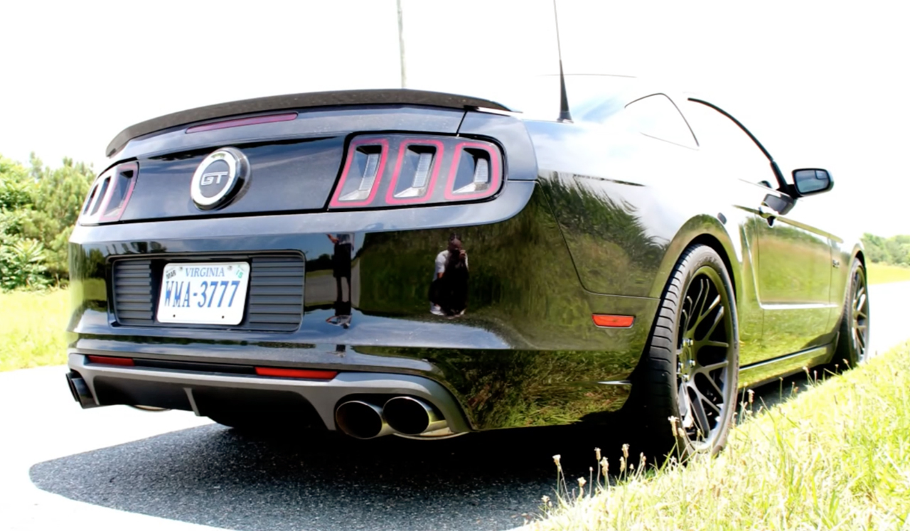 BAMA-Tuned Mustang lays waste to cornfields