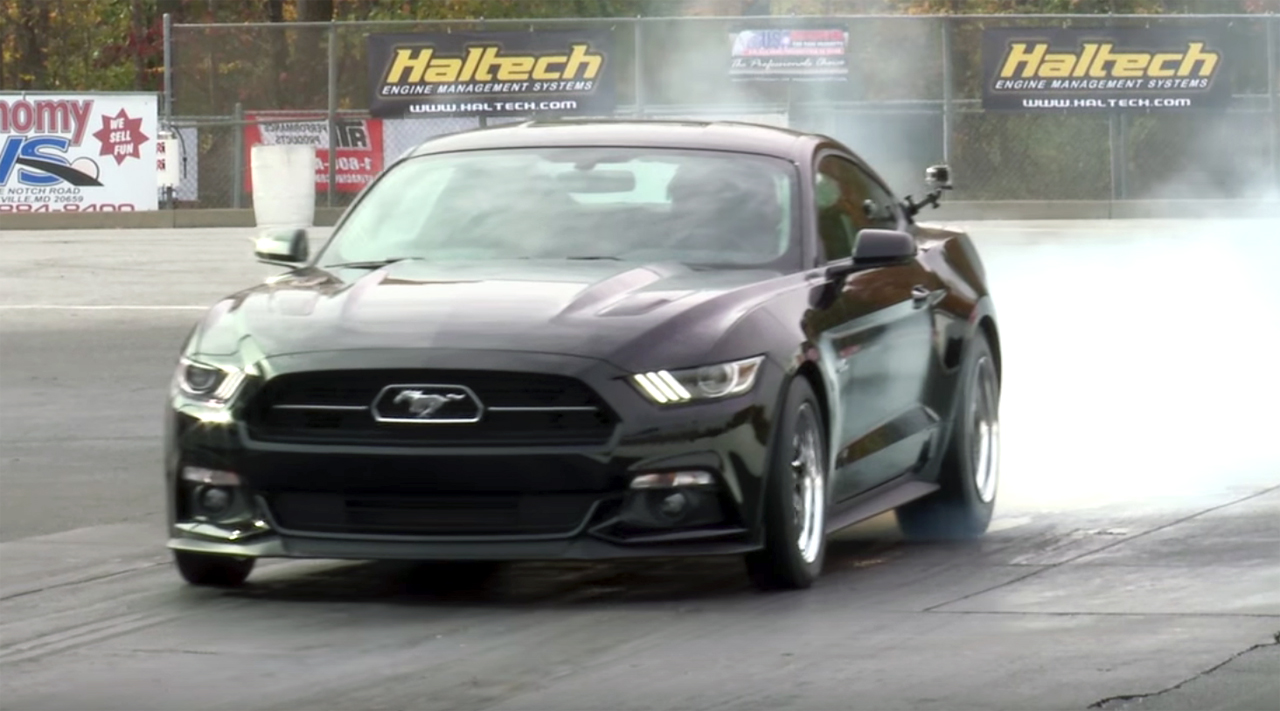 Watch this Bama-tuned Mustang set a world record