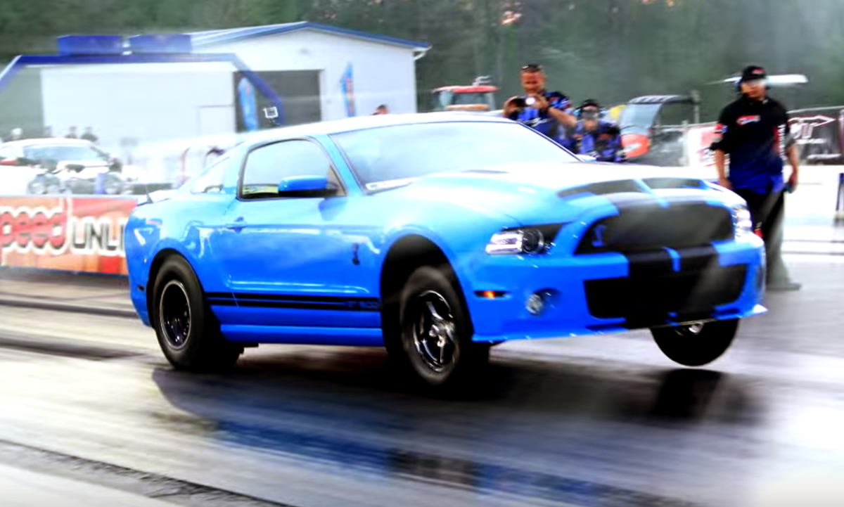 Is this the world's fastest six-speed Shelby?