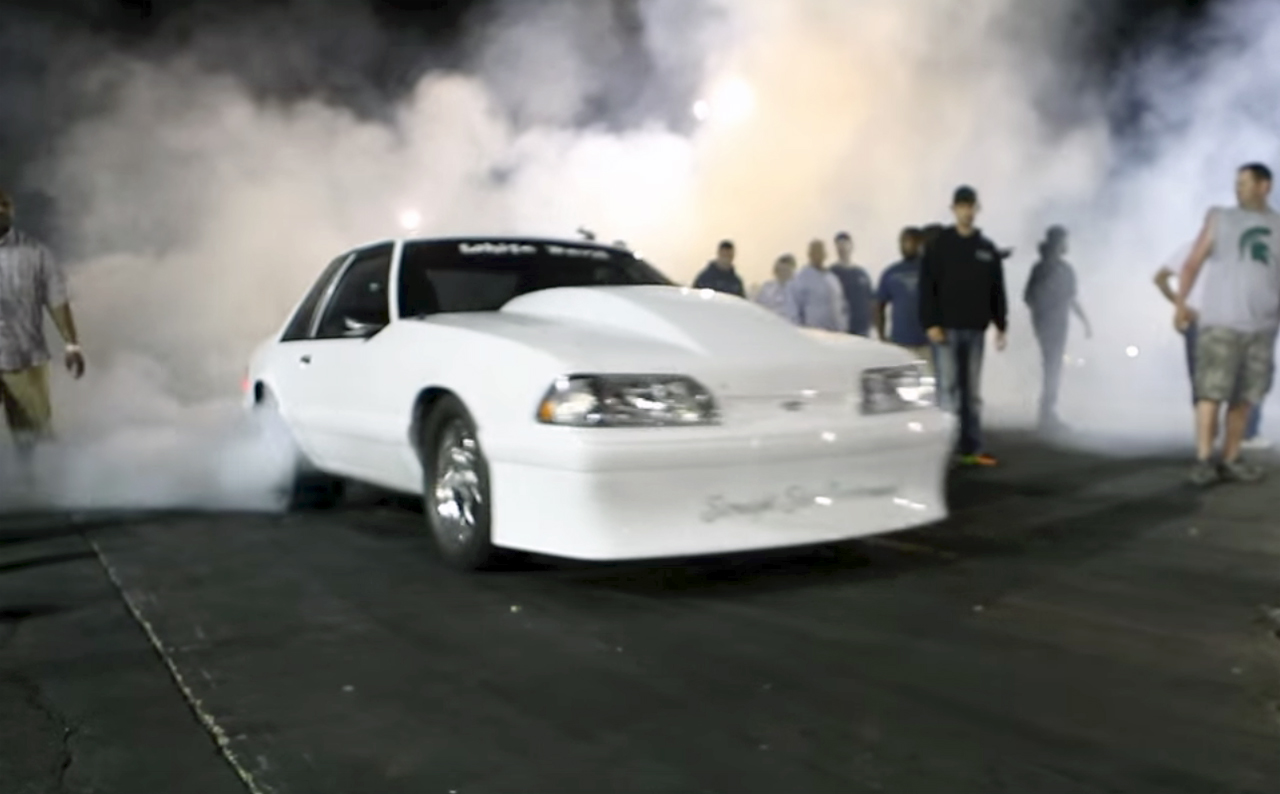 Fox-Body Mustang army hits the grudge races